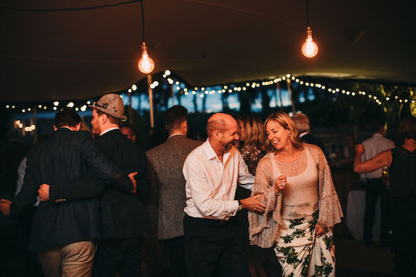 Happy Wedding guests - Lawson photography