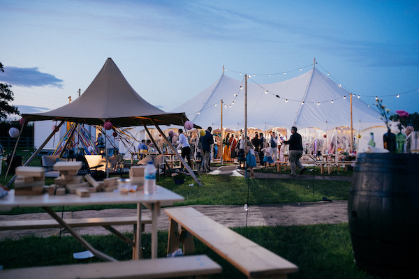 Festival wedding tents - Wedding Day Photos